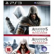 Assassin's Creed Brotherhood and Assassin's Creed Revelations Double Pack, за PlayStation 3
