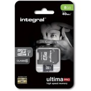 Memorija micro SD 8GB Integral Class 10 UHS-I, sa adapterom 105515