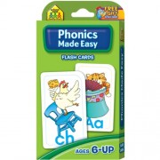 Flash Cards - Phonics Made Easy 54 Per Package (Pack of 3 )