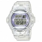 reloj digital estandar casio baby-g BG-169R-7E - blanco violeta