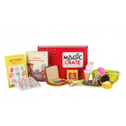 Magic Crate Activity Kit for 2-3 Year olds : My Fruit & Vegetable Friends (Contains 3 Activities and Storybook)