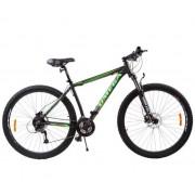 """Bicicleta Omega Bettridge, Roti 29"""", 27 viteze, Model 2019 (Negru/Verde)"""