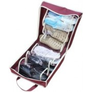 Divinext Shoe Tote 6 pair shoes Organizer(Maroon)