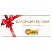 indickynabytok.sk - Darčekový poukaz 50 €