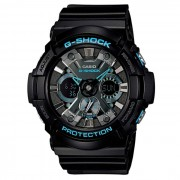 Reloj para hombre Casio G-choque GA-201BA-1A-Negro y Azul