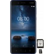 NOKIA 8 met 64 GB geheugenkaart smartphone (13,46 cm / 5,3 inch, 64 GB, 13 MP camera)
