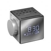 Radio cu ceas sony IC-FC1PJ ore de proiectie, negru
