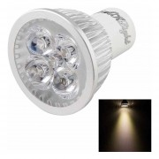 YouOKLight GU10 4W 350LM Luz Blanca Cálida De Alta Potencia De 4 Bulbo Del Proyector LED, 220V AC