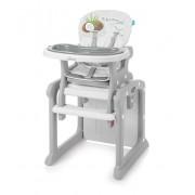 Baby Design Scaun de masa 2in1 Candy 6m+ 07 Grey