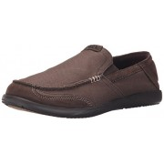 crocs Men's Walu Luxe Espresso/Espresso Loafers - 7 UK/India (41-42 EU)(203473-22Z)