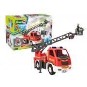 REVELL JUNIOR KIT Fire Truck -Ladder Unit incl. figure