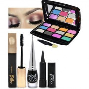 Color Diva Face Beauty Makeup Combo Set of 4 GC560-By Adbeni