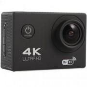 Camera Video Sport 4K iUni Dare 85i WiFi mini HDMI 2 inch LCD Negru Bonus Bratara Roca Vulcanica unisex
