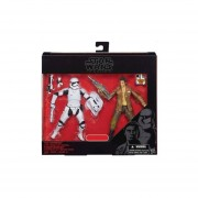 STAR WARS THE BLACK SERIES POE DAMERON AND FIRST ORDER STORMTROOPER