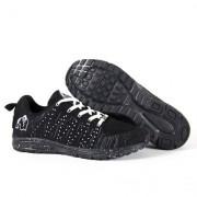 Gorilla Wear Brooklyn Knitted Sneakers, black/white
