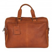 Burkely Antique Avery Workbag Cognac 15.6 inch