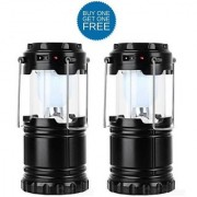 Buy 1 Get 1 Free Solar Rechargeable LED Camping Lantern Light