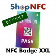 Badge NFC XXL - Stampa Offset