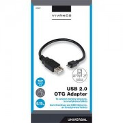 Adapter USB/mic. OTG Vivanco 35567 0.15m 35567