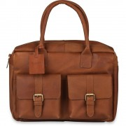 Burkely Laptoptas Burkely Finn Vintage Businessbag Classic Cognac 14 inch