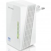 Adaptador Powerline Tp-Link Tl-Wpa4220 1pz Inalambrico A 300mbs 2RJ-45 A 500mbps 300m De Cable +B+