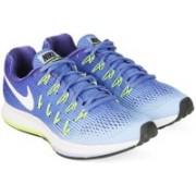Nike WMNS NIKE AIR ZOOM PEGASUS 33 Running Shoes For Women(Blue)