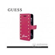 Toc telefon piele Guess Studded Samsung GT-I9500/9505 Galaxy S IV., pink (GUFLBKS4SAP)