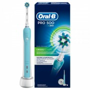Periuta electrica Oral B PRO 500 Cross Action, 28800 oscilatii/min