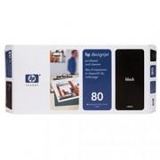 ORIGINAL HP Testina per stampa nero C4820A 80 incl. depuratore