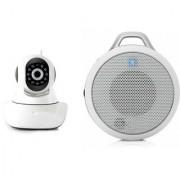 Zemini Wifi CCTV Camera and Clip Bluetooth Speaker for LG OPTIMUS G PRO(Wifi CCTV Camera with night vision  Clip Bluetooth Speaker)