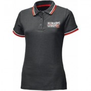 Held Bikers Polo donna Nero Rosso XS