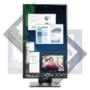 HP VH240a 23.8 FHD IPS LED Monitor - Zwart