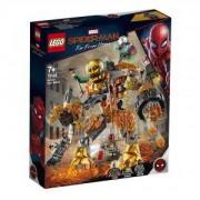 Конструктор Лего Супер Хироу - Битка с Molten Man, LEGO DC Comics Super Heroes, 76128