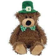 Ty Beanie Babies Lucky O'Day - Irish Bear
