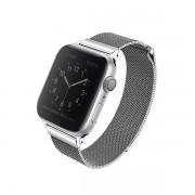 Метална каишка UNIQ Dante - Apple Watch 4 44mm сребърен