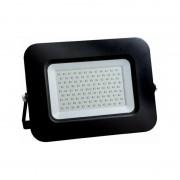 OPTONICA Projecteur LED 100W (600W) Noir Premium Line IP65 8500lm - Blanc
