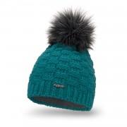Standardowa czapka damska kostka PaMaMi - Morski