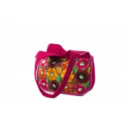 Bohemian Fair Trade Tas Campero Roze