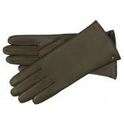 Roeckl Classic Wool Damen Lederhandschuh mit Scotchgard-Ausrüstung, Dunkelbraun (780) 21,5 cm (8)