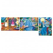Puzzle 3x48 Cenicienta Princesas - Clementoni