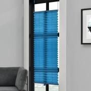 [neu.haus]® Dekoratívní skládaná Plissé žaluzie - 110x150 cm - tyrkysová - ochrana před sluncem a teplem - stínění - bez vrtání