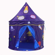 KssFire Castle Tents Playhouse Kids Play Tent Folding Space Tent Portable Folding Space Tent Portablefor for Princess & Prince