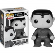 Funko Pop Superman Exclusivo Black And White Dc Comics-Multicolor