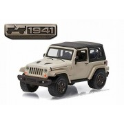 Greenlight New 1:64 75TH ANNIVERSARY SERIES 3 COLLECTION SAND 2016 JEEP WRANGLER Diecast Model Car By by