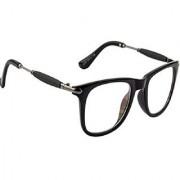 Arzonai Superb Wayfarer Black-Transparent UV Protection Sunglasses |Frame For Men & Women [MA-556-S2 ]