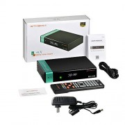 Noprm V8X DVB-S / S2 / S2X FTA Receptor de señal Digital Set-Top Box Full HD 1080P Control Remoto WiFi Incorporado H.265 V8 Nova Upgrade