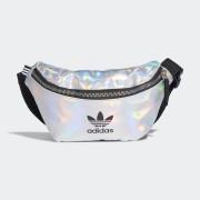 Adidas Сумка на пояс Metallic adidas Originals Серебристый Один размер