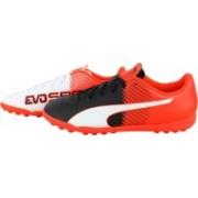 Puma evoSPEED 5.5 TT Football Shoes(White)