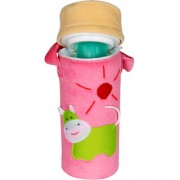 Ole Baby 3D Pop Out Plush Soft Toy Assorted Single Portable Infant Feeding Milk Food Bottle Thermal Warmer Bag Storage Holder (Upto 250ml each)