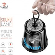 Tantra Sound Lamp Portable Bluetooth Speaker Mini Speakers with Deep Bass Wireless Speaker with subwoofer